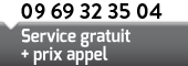 09 69 32 35 04 Service gratuit + prix appel
