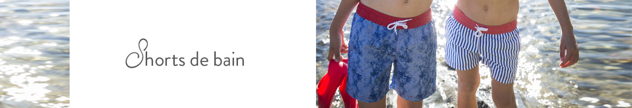 Collection shorts de bain garçon 3-8 ans