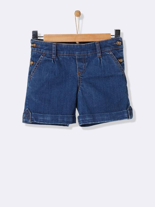 Les Essentiels-Fille-Short en denim fille