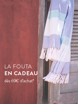 La fouta offerte dès 69€ d'achat