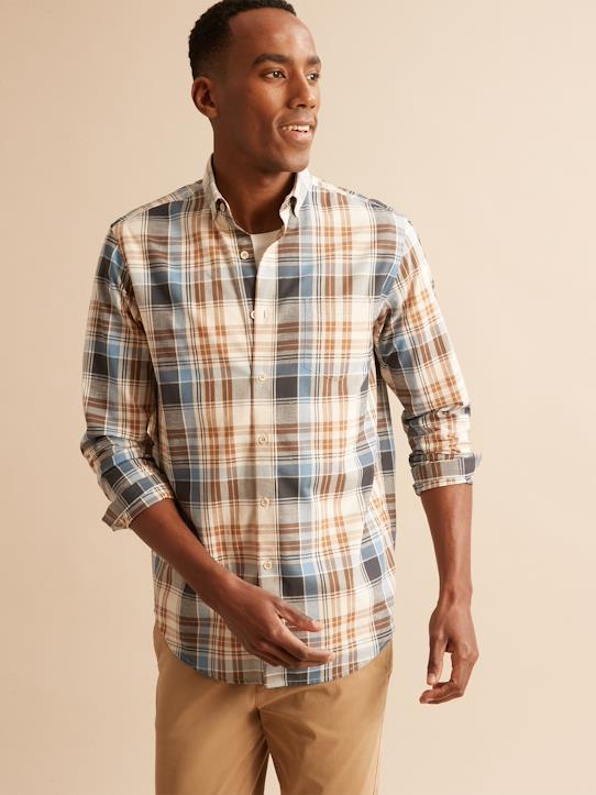 Homme-Chemises-Chemises casual-Chemise Regular Fit madras homme