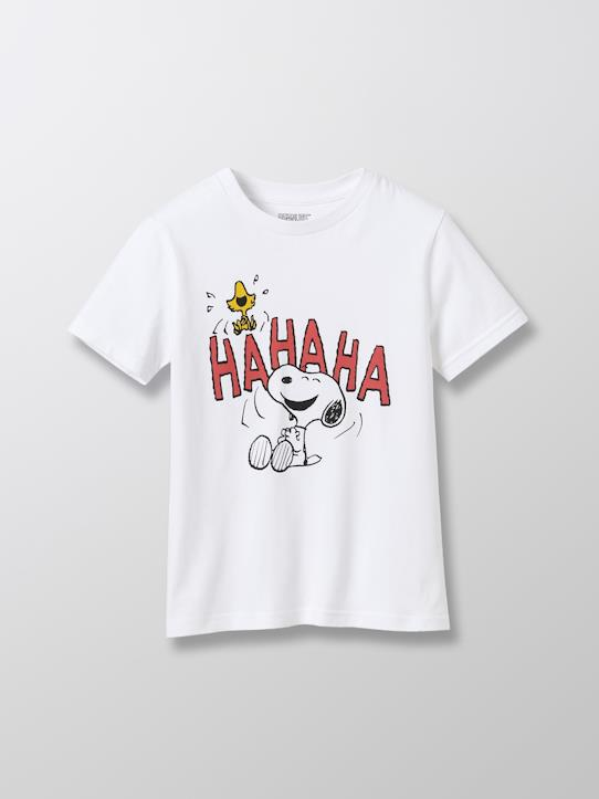 Garçon-T-shirt coton bio Cyrillus X PEANUTS™  Collection Snoopy
