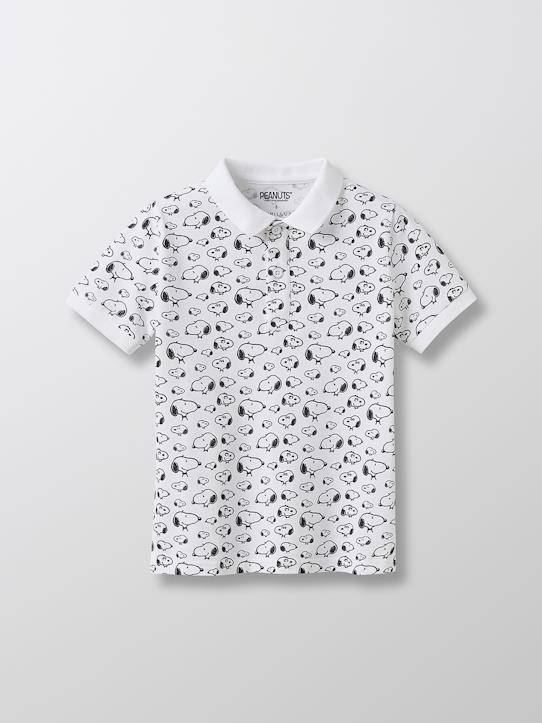 Garçon-Polo Enfant Cyrillus X PEANUTS™ - Collection Snoopy