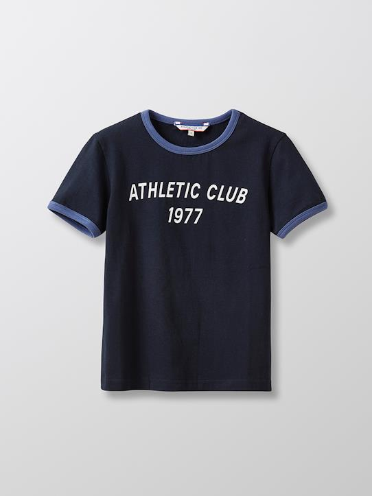 Garçon-T-shirts, polos-T-shirt en coton bio - Collection Athletic club 1977