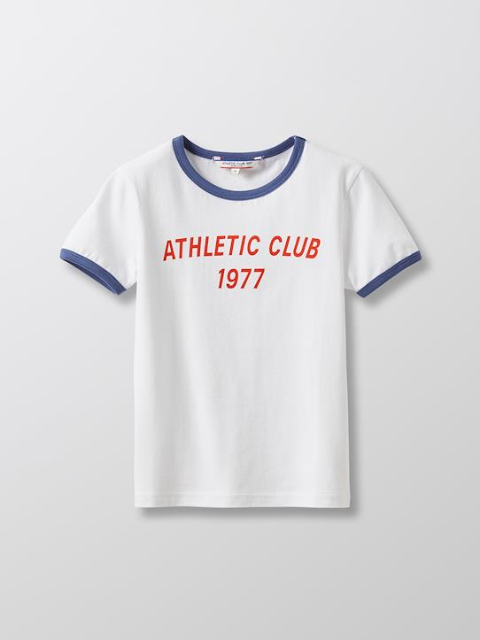 Garçon-T-shirt en coton bio - Collection Athletic club 1977