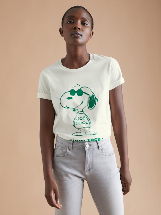 La Collection Automne-Femme-T-shirt femme Cyrillus X Peanuts® - Collection Snoopy