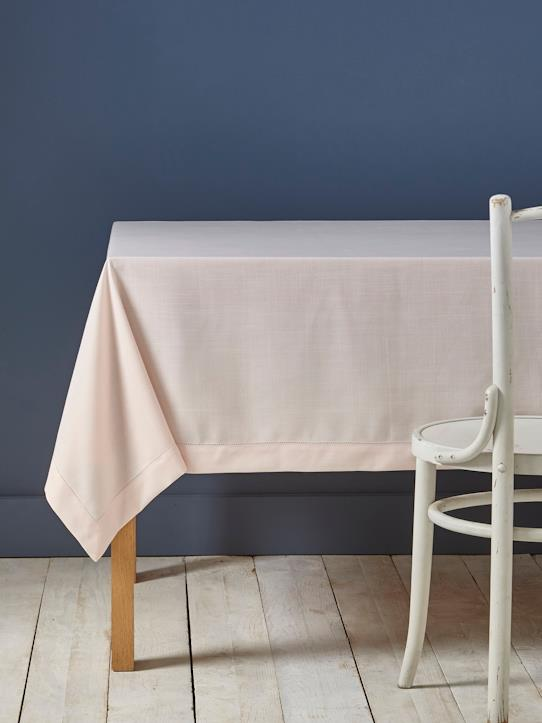 Maison-Linge de maison-Linge de table-Nappe anti-taches aspect lin