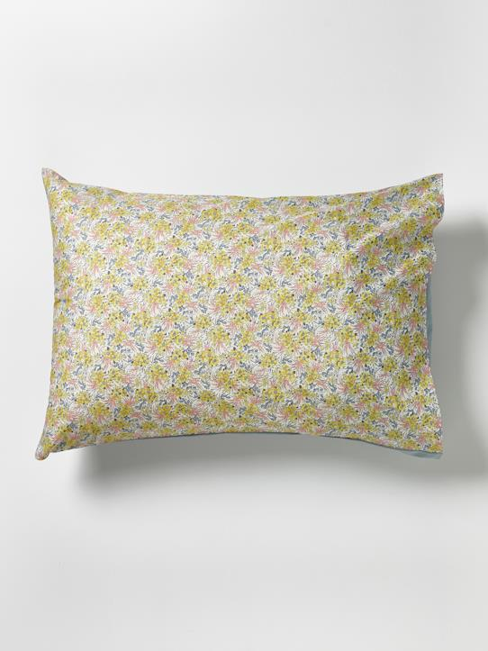 "La Collection Printemps-Maison-Taie d'oreiller en coton ""Liberty Swirling Petals"""