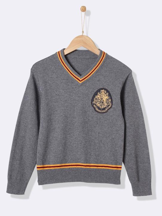 Pull collection Harry Potter Gris chiné