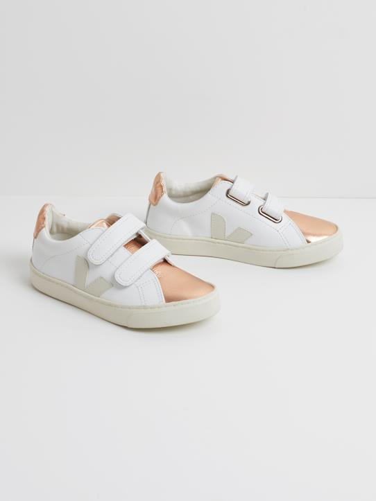 La Collection Automne-Fille-Baskets VEJA extra white fille