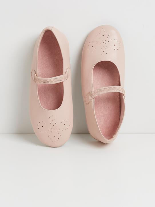 Chaussons fille Rose