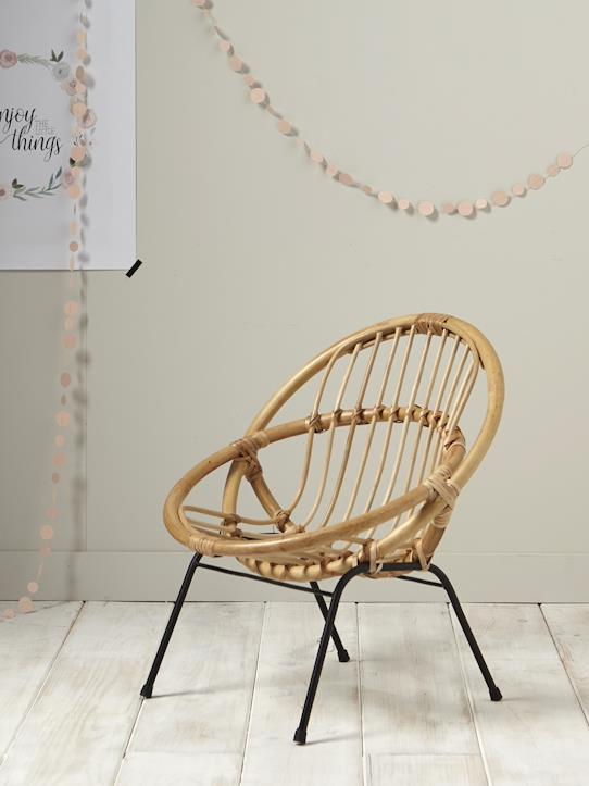 La Collection Printemps-Fauteuil enfant en rotin