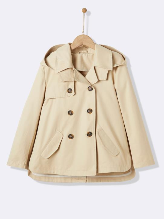 Fille-Trench fille