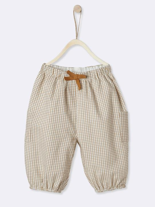 La Collection Printemps-Bébé-Pantalon à carreaux bébé