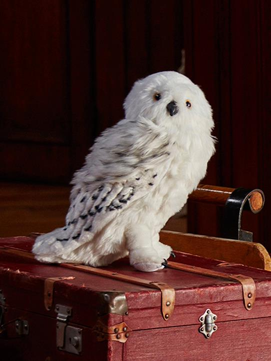 Poufsouffle-Peluche Hedwige grand format Collection Harry Potter
