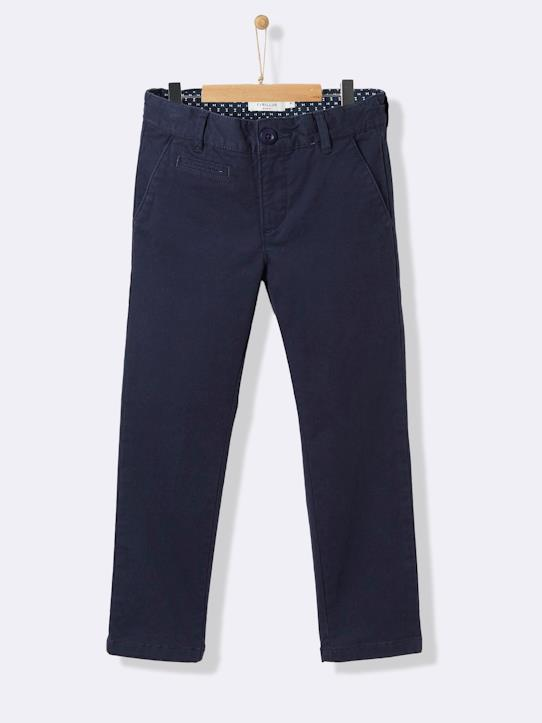 La Collection Printemps-Pantalon chino garçon