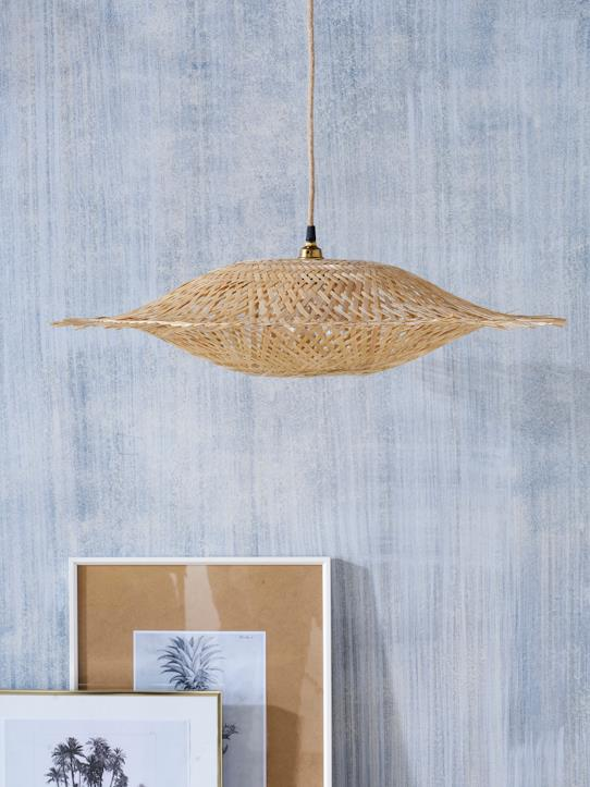 La Collection Printemps-Maison-Suspension soucoupe en bambou