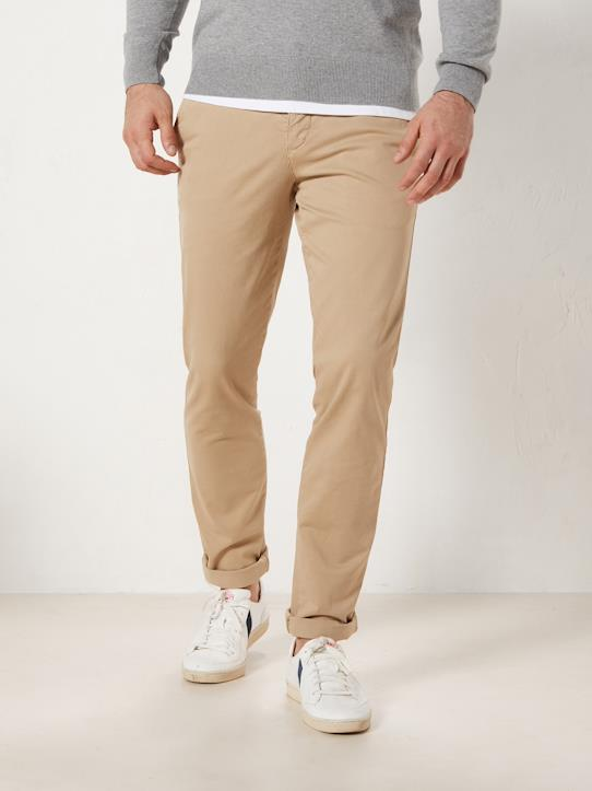 La Collection Printemps-Homme-Pantalon chino slim fit homme