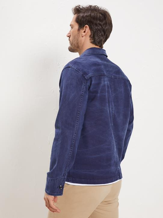 Veste homme Collection Worker Family Bleu