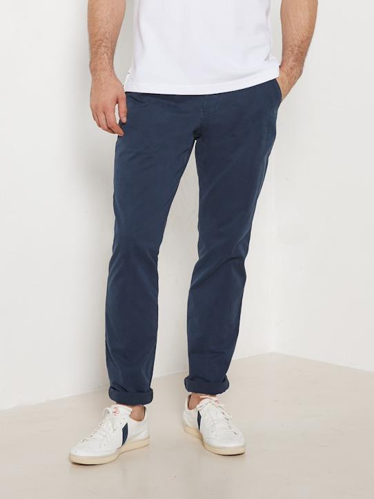 Pantalon chino regular fit homme Caramel+Kaki+Marine