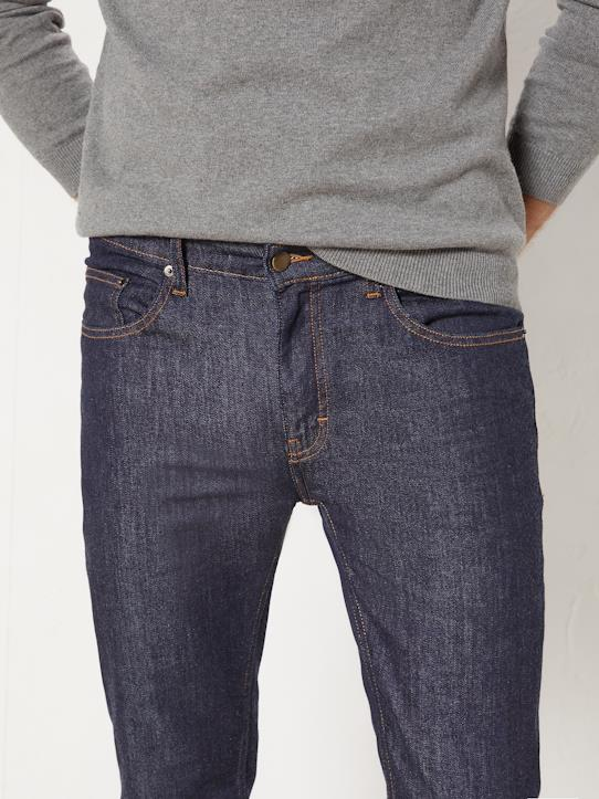 Jean regular fit stretch homme Denim brut