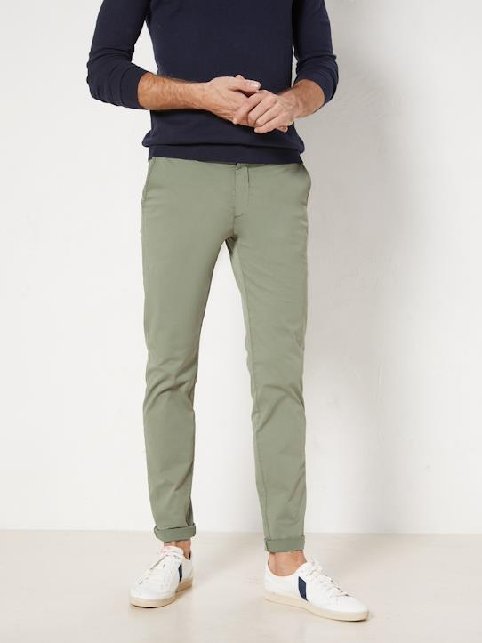La Collection Printemps-Homme-Pantalon chino slim fit homme : Le Light