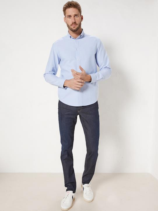 Homme-Chemises-Slim Fit-Chemise Slim Fit homme en Oxford uni