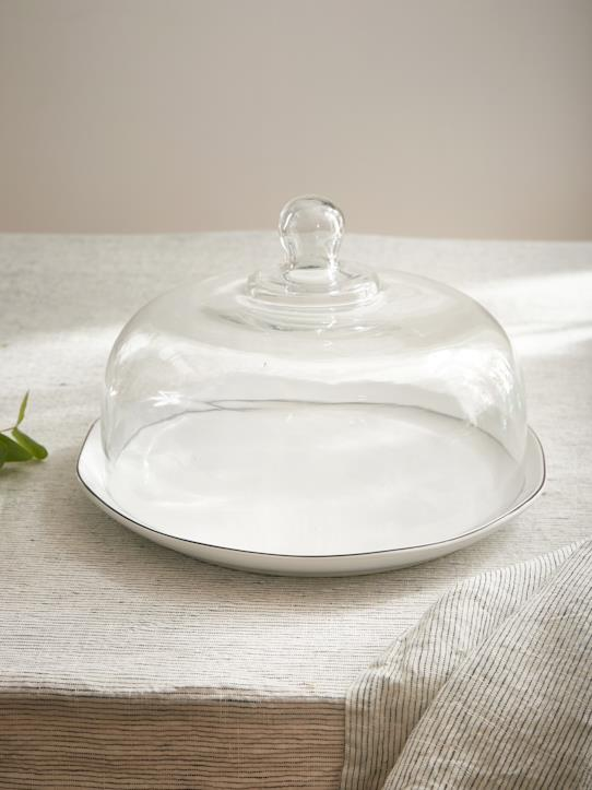Cloche en verre transparent