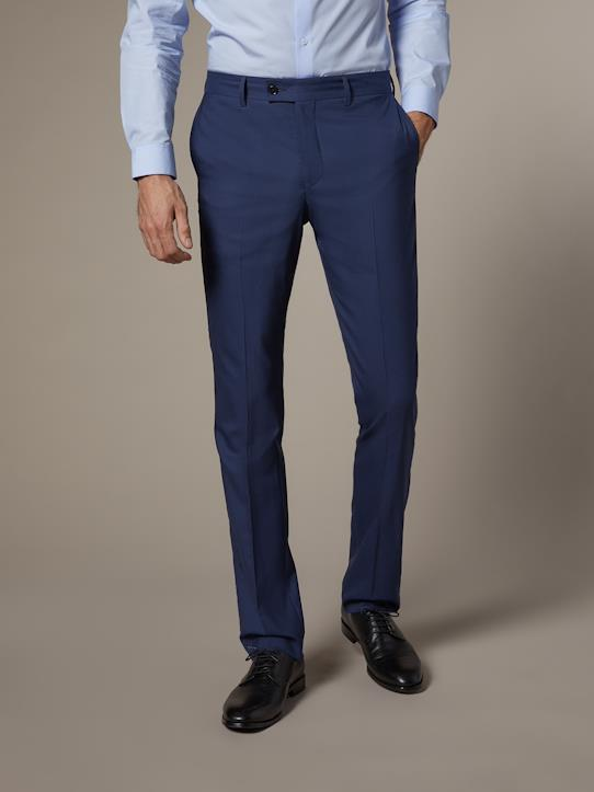 Pantalon costume homme Travel Suit Bleu/blanc