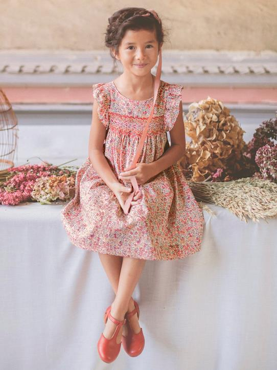 Fille-De 3 à 8 ans-Robes-Robe de cérémonie Amy en Liberty
