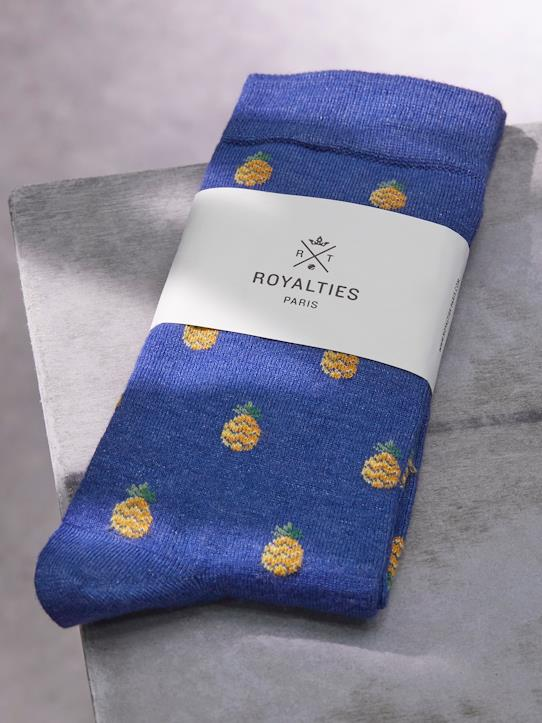 Chaussettes Homme Ananas RoyaltiesR