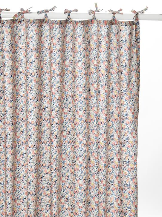 La Collection Printemps-Rideau en percale de coton tissu Liberty
