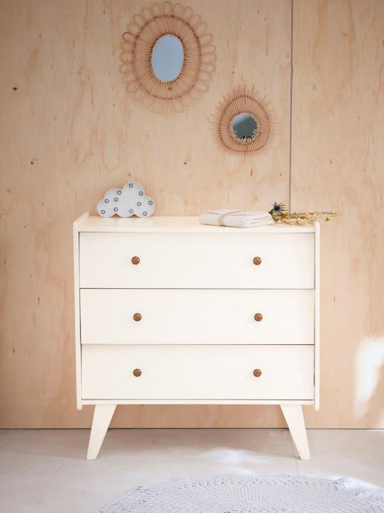 Maison-Mobilier-Commode 3 tiroirs