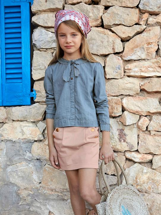 Fille-Chemise western fille