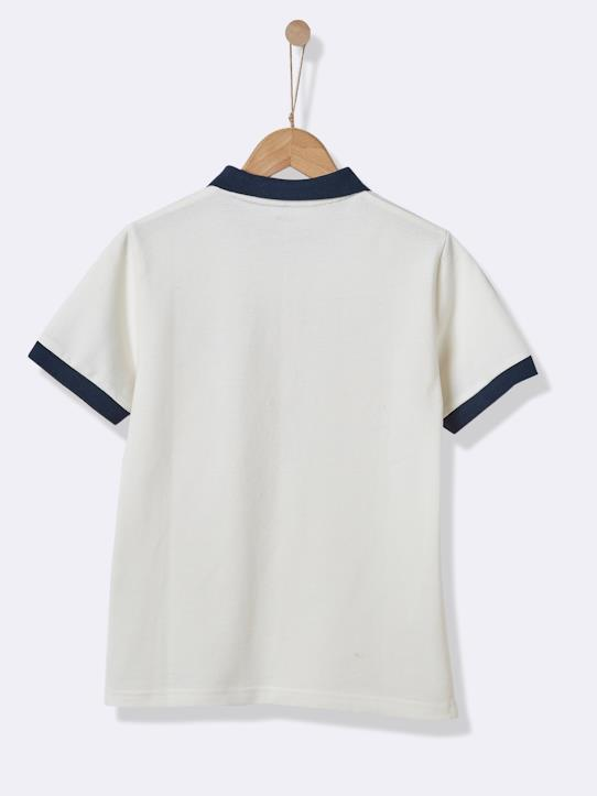 Polo garçon - Collection Sport Faux blanc