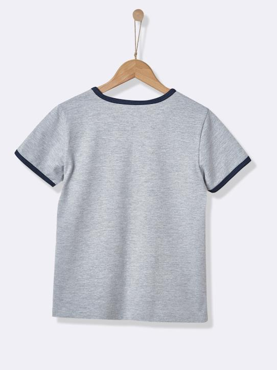 Tee-shirt garçon - Collection Sport Gris+Marine