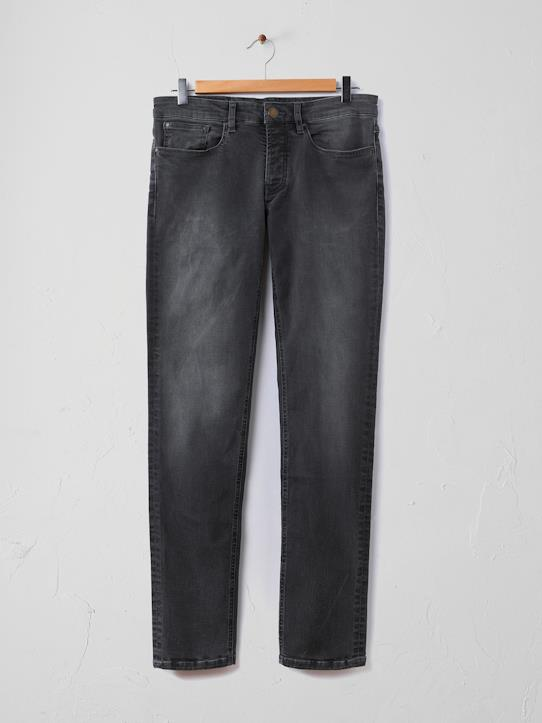 Jean slim homme confort stretch Gris