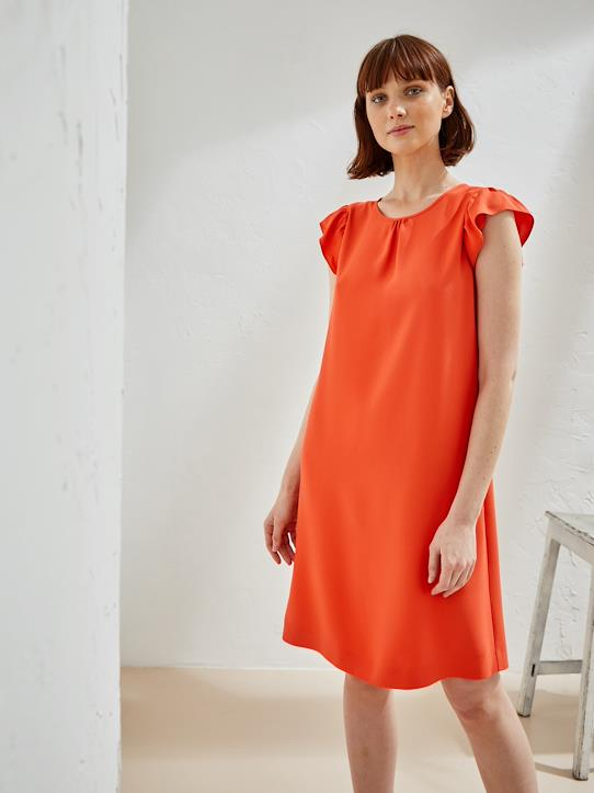 Femme-Robes-Robe femme corail