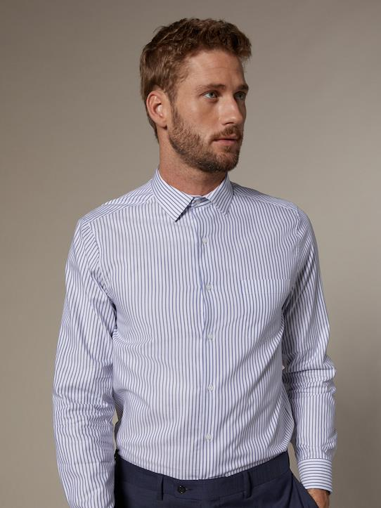 La Collection Printemps-Homme-Chemise Regular Fit homme en Oxford rayé