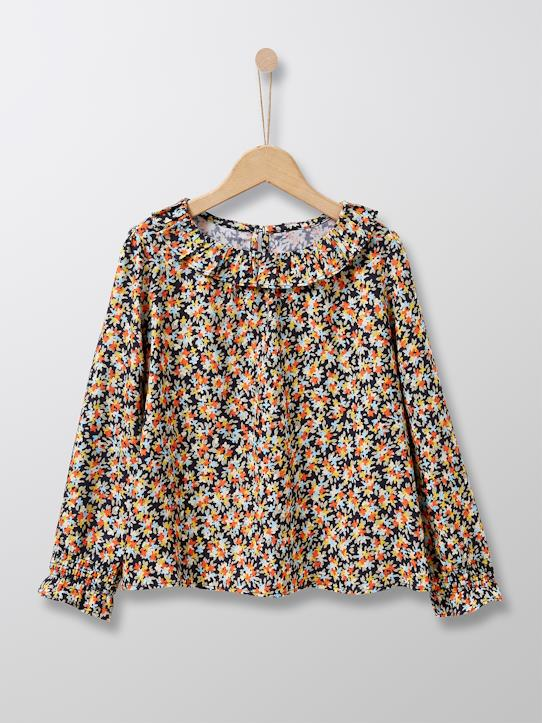 Fille-Blouse fleurie fille