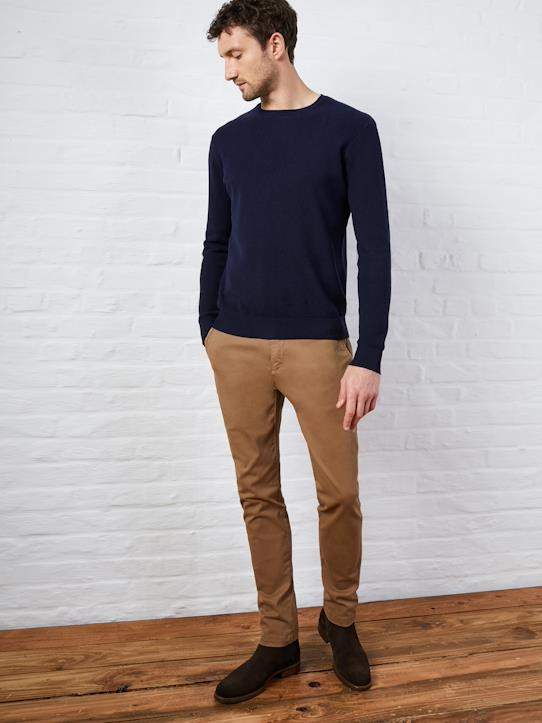 Homme-Pantalons, jeans-Chino Slim homme Paulo