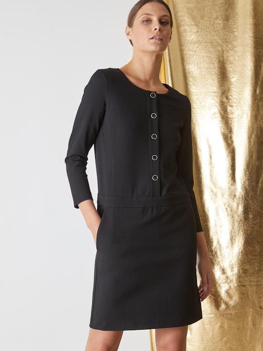 Femme-Robe maille milano femme