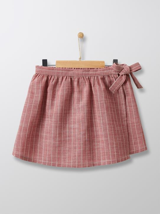 Jupe-short Fille Lina Curry+Sorbet framboise