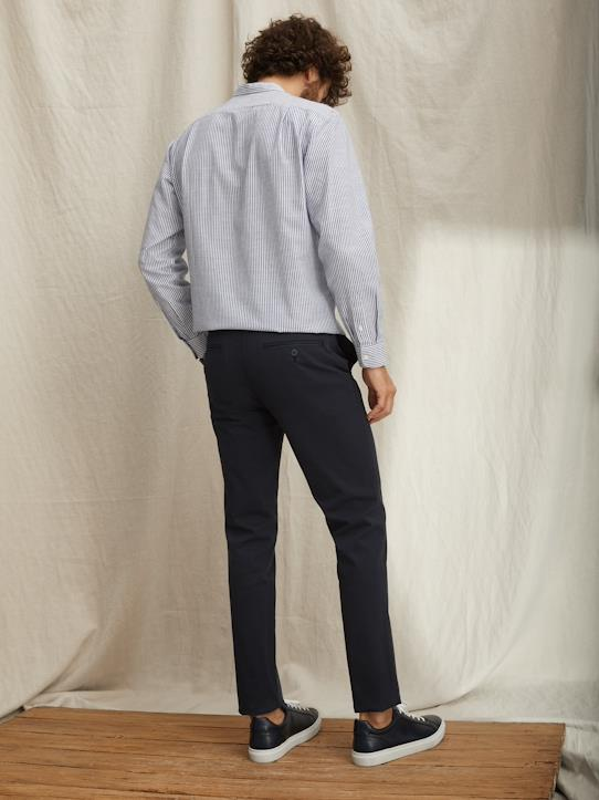 Pantalon chino Slim Fit  Alex Beige+Bleu Lagon+Grenadine+Kaki+Marine