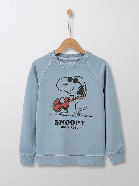 Sweat Enfant Cyrillus X PEANUTS™ - Collection Snoopy Bleach
