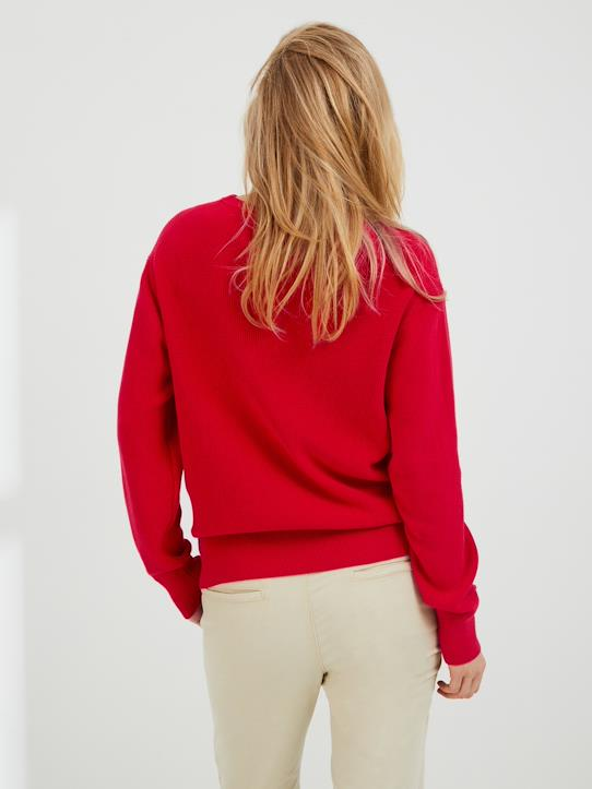 Pull mixte homme/femme - Collection One For Two Rouge
