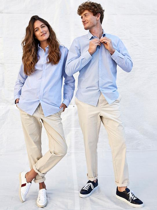 La Collection Automne-Femme-Pantalons, jeans-Chino mixte homme/femme - Collection One For Two