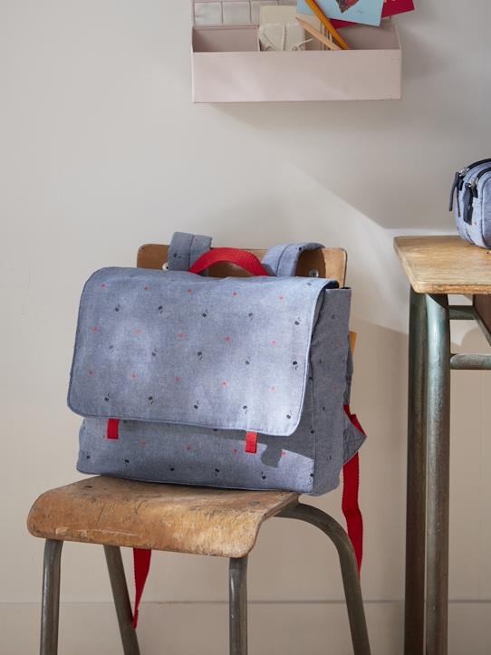 Cartable maternelle 'chambray' Chambray