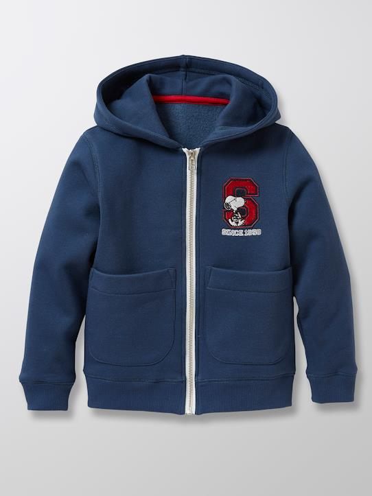 Garçon-Sweats, polos rugby-Sweat Enfant Cyrillus X PEANUTS™ - Collection Snoopy