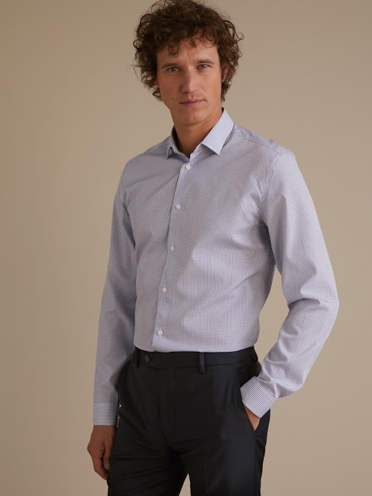 Homme-Chemises-Slim Fit-Chemise Slim Fit carreaux homme Non Iron